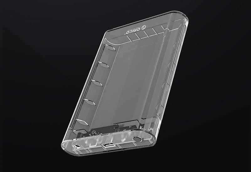 باکس شفاف 3.5 اینچی