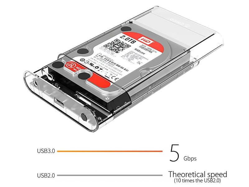 باکس هارد USB 3.0