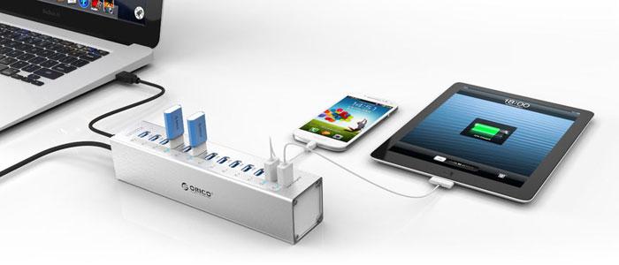 هاب هوشمند USB 3.0