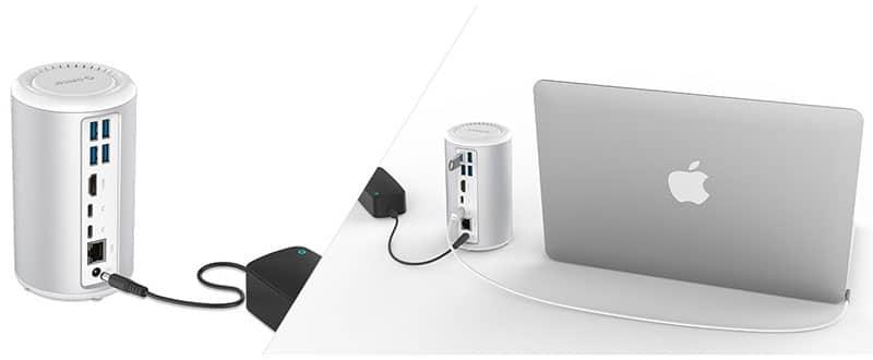 داک استیشن USB C