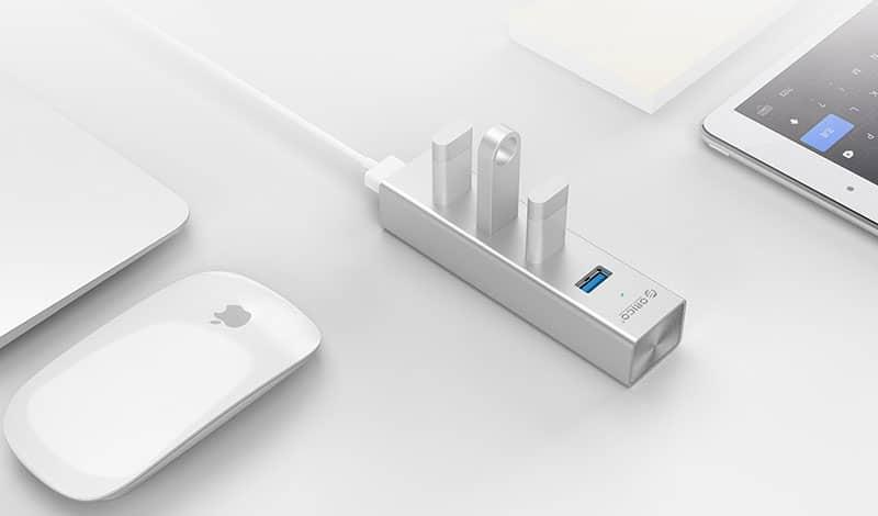 هاب فلزی اوریکو USB 3.0