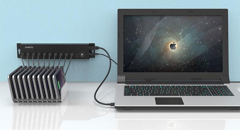 هاب دیواری USB