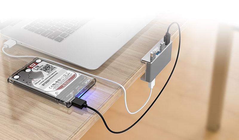 هاب USB 3.0 فلزی