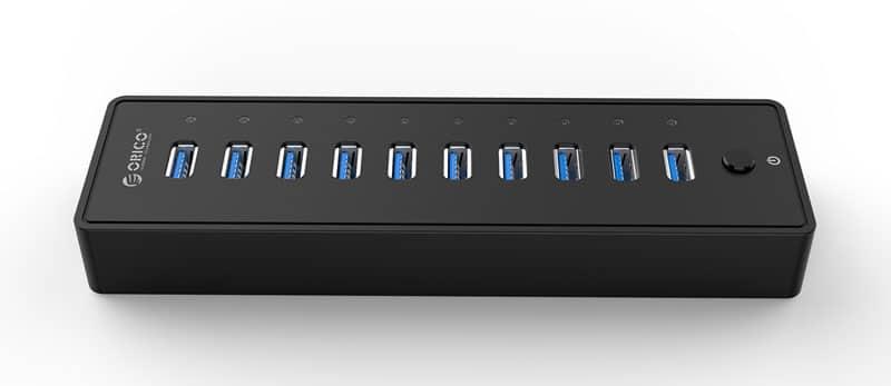 هاب 10 پورت USB 3.0