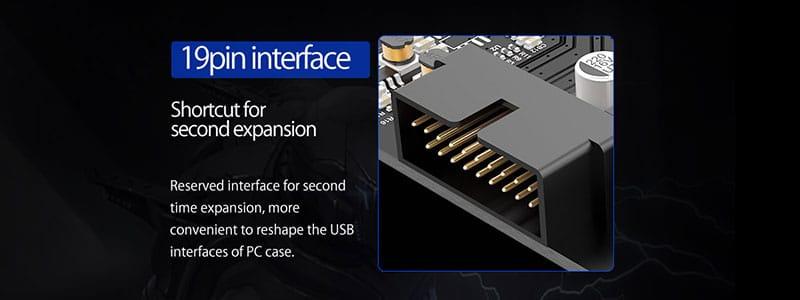 پورت 19 پین USB 3.0