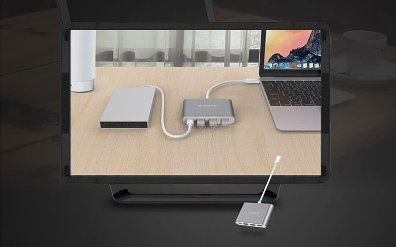 هاب USB C 4Port