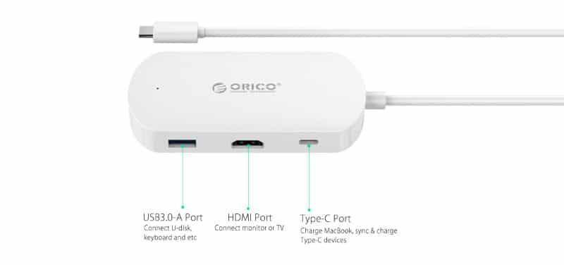 تبدیل Type C به HDMI